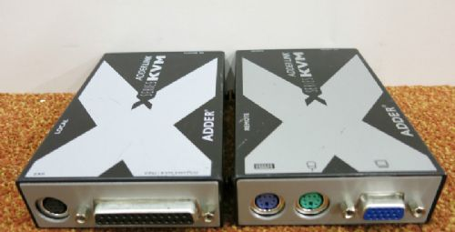 Adder X-series KVM Cat 5 & 6 Extender Local & Remote - X-KVM/P